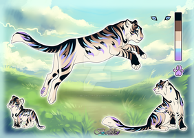 Tiger adoptable B//Auction//CLOSED by Belliko-art