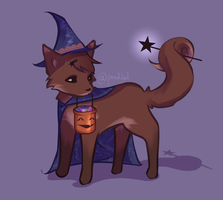 Little Witch by poodled