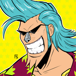 Franky from One Piece by Requiem-Delacroix