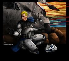Captain Rex by Galeart