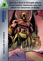 Hawkman Special - The Claw Of Horus by overpower-3rd