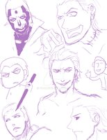 Hidan ~ sketches by PK-9
