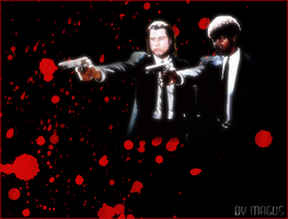Pulp Fiction by maguspurple