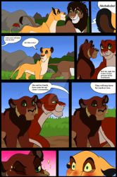 Lesbian Lionesses by nicodiangelo555