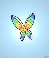 Pride Butterfly by LifeARRAY