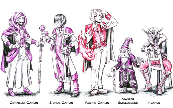 Game of Nobles: House Carlin by strangefour