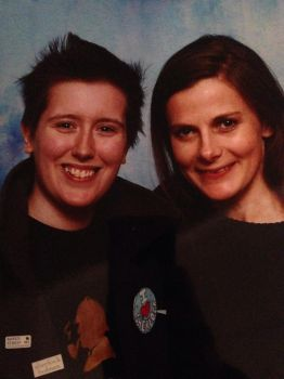Myself and Louise Brealey by BartyJnr