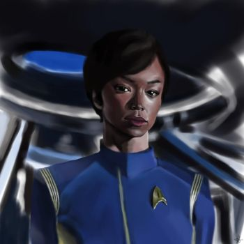 Michael Burnham Study by Delkin