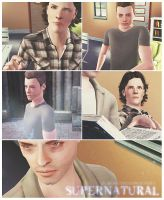 supernatural sims 3 by Fear-Me-December