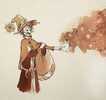 Inktober - Rincewind by StormBay
