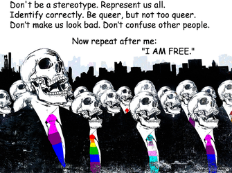 Queer Sheeple by BaalSoulslayer