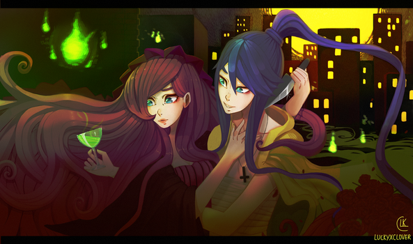 Dream Meltic Halloween by LuckyXClover