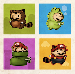 Mario Suits by beyx