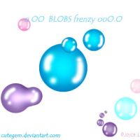 Blobs frenzy -ps brushes- by cutegem