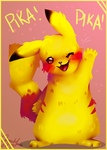 Pika Pika!!! by LittleRavine