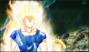 Ultra Instinct SSJ Goku (Limit Breaker SSJ) by TheOnePhun211