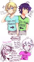 couple shirts: Mikayuu by yuulzuo
