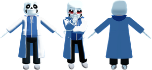 MMD Science Sans by KittyNekkyo