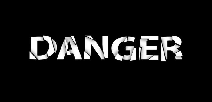Danger Text by flashmac