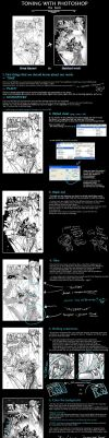 Comics: Toning with Photoshop by ekyu
