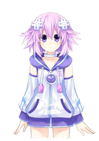 [HDNGBS] Neptune's New Outfit by NickTheGamemaster