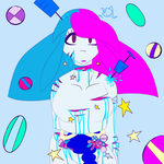Stars Sparkles and Pills! [Neon Gore] by MyDoggyCatMadi