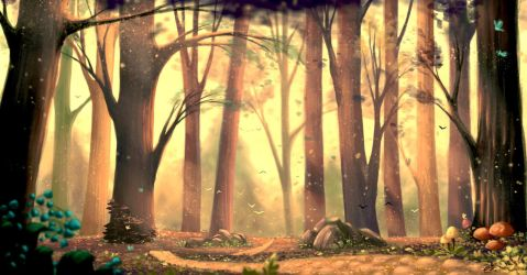 Forest by margo16