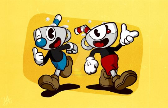 Cuphead by Smudgeandfrank