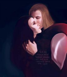 loki and thor by Everybery