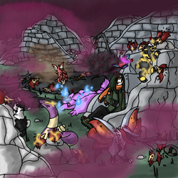 Event - Chaos in the Desolate City by Imperial-x-Conquest