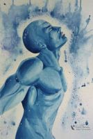 Dr. Manhattan by NicoleHansche