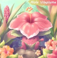 Alola Vileplume - Pokemon Sun and Moon
