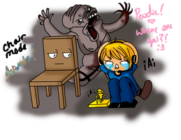 PEWDIEPIE .::Chair Mode ACTIVATE::. by SakiCakes