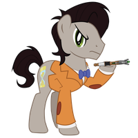 Eleventh Doctor Whooves by 1992zepeda