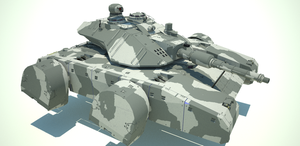 Medium Hovertank by flaketom