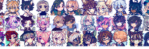 icon commission compilation by q1415