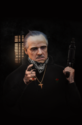 Trap GodFather by shkelqimart