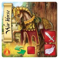 War Horse - Stable Card by 3exazariusE