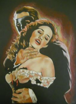 Phantom of the Opera by drawing2be