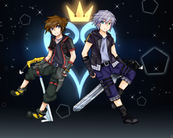 KH3 Sora and Riku by Your-Silent-Demise