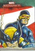 MM Wolvie and Cyclops by gravyboy