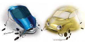 Concept city cars ... by candyrod