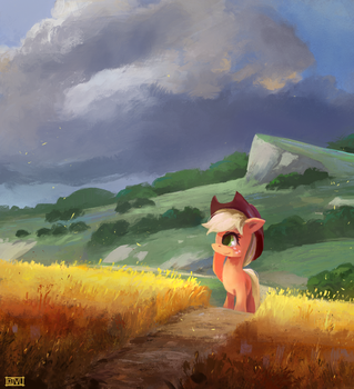 By The Field by aJVL