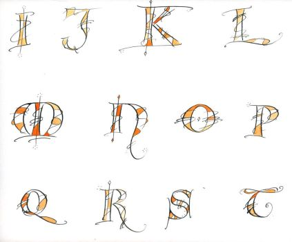 Freestyle letters 3 by Alpacalligraphy