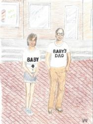 Daddy and Baby I by Attalus