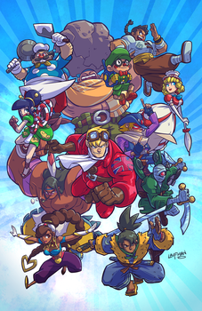 Power Stone Prints! by DerekLaufman