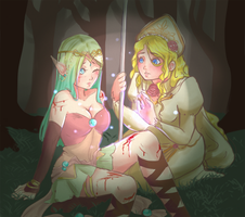 [FE:AR] Mision #4 - Lisyanthus by Sumimi-pyon