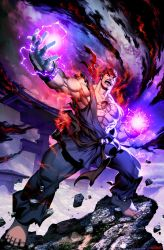 Street Fighter Unlimited 11 - Evil Ryu by GENZOMAN