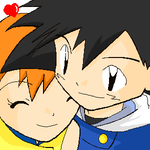 Ash and Misty 2 by Shioulion