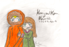 Kenny and Karen McCormick by Beki-ChanXD